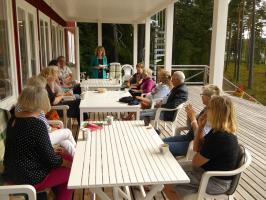 Kurs med Paul Riley, 12 - 16 augusti 2015